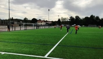 Inauguration du terrain de football